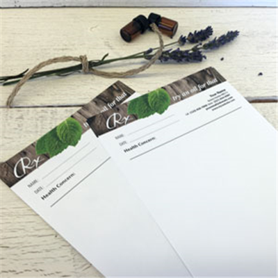 Notepads - RX pads - Woodsy - Personalize