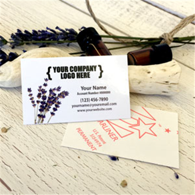 "Labels: Little 1.5"" x 2.5""- Lavender"
