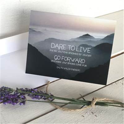 Greeting Cards: Dare to Live