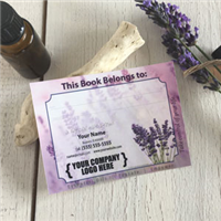 Labels: Bookplate Lavender Breeze
