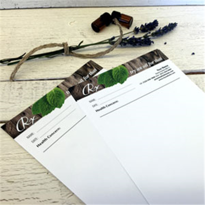 Notepads - RX pads - Woodsy - Blank