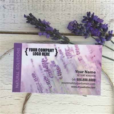 Business Cards - Lavender Breeze