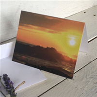 Greeting Card: Sunset