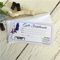 Gift Certificate: Lavender Blue Bottle