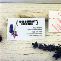 "Labels: Little 1.5"" x 2.5""- Lavender Blue Bottle"