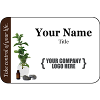 Name Tag - Woodsy