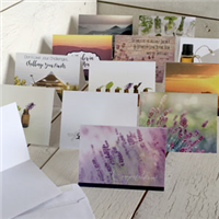 A set of Inspiring Greeting Cards