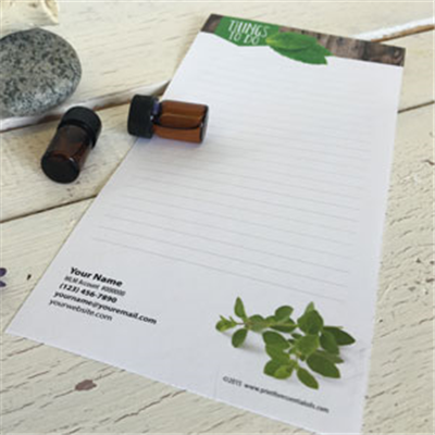 Notepads - Set of 3 - Woodsy - Personalize