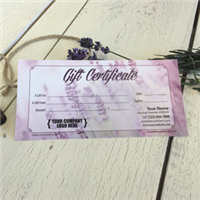 Gift Certificate: Lavender Breeze