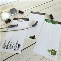 Notepads - Set of 3 - Lavender - Blank