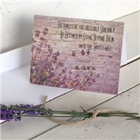Greeting Card: Brick Wall