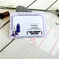Labels: Bookplate Lavender Blue Bottle