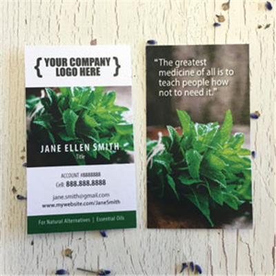 Business Cards - Mint