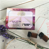 Labels: Bookplate Lavender Fields